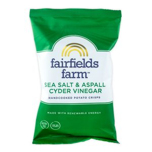 Fairfields Farm Crisps Fairfields Farm Crisps Aspall Cyder Vinegar & Sea Salt (12x150g)