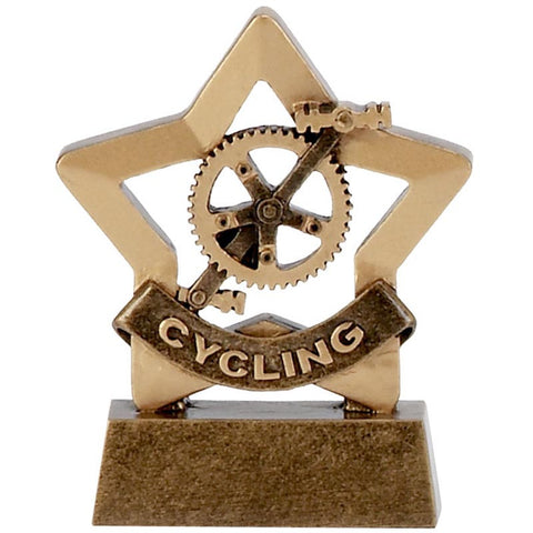 Mini Star Cycling Trophy - Ace Trophies