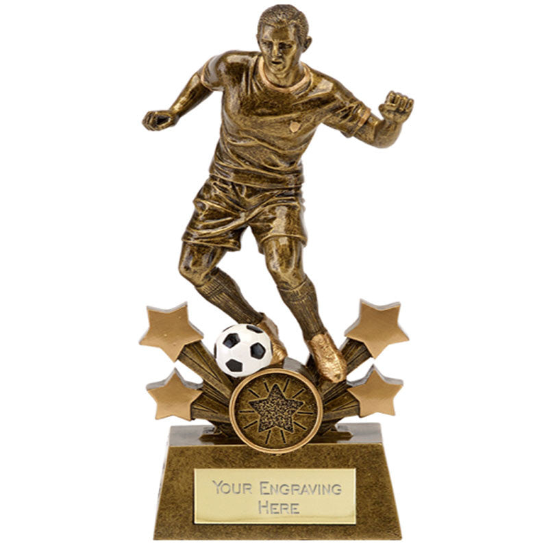 Star Explosion Football Trophy