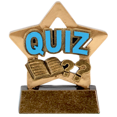 Mini Stars Quiz Trophy