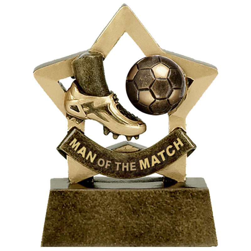 Man of the Match Mini Star - Ace Trophies