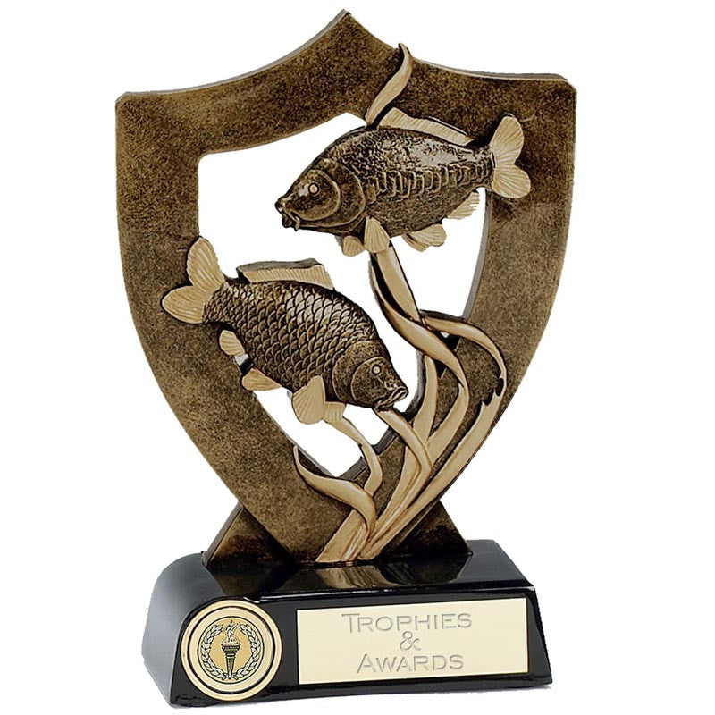 Celebration Shield Fishing Trophy - Ace Trophies