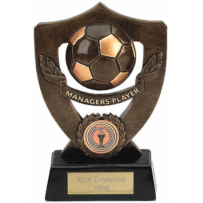 Celebration Shield Series Football Player Trophy - Ace Trophies