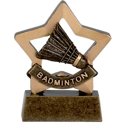 Mini Stars Badminton Trophy
