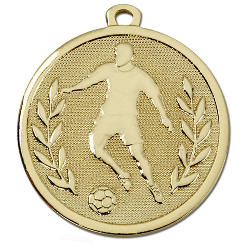 Galaxy Football Figure Medal - Ace Trophies
