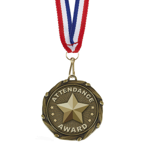 Attendance Award Medal - Ace Trophies