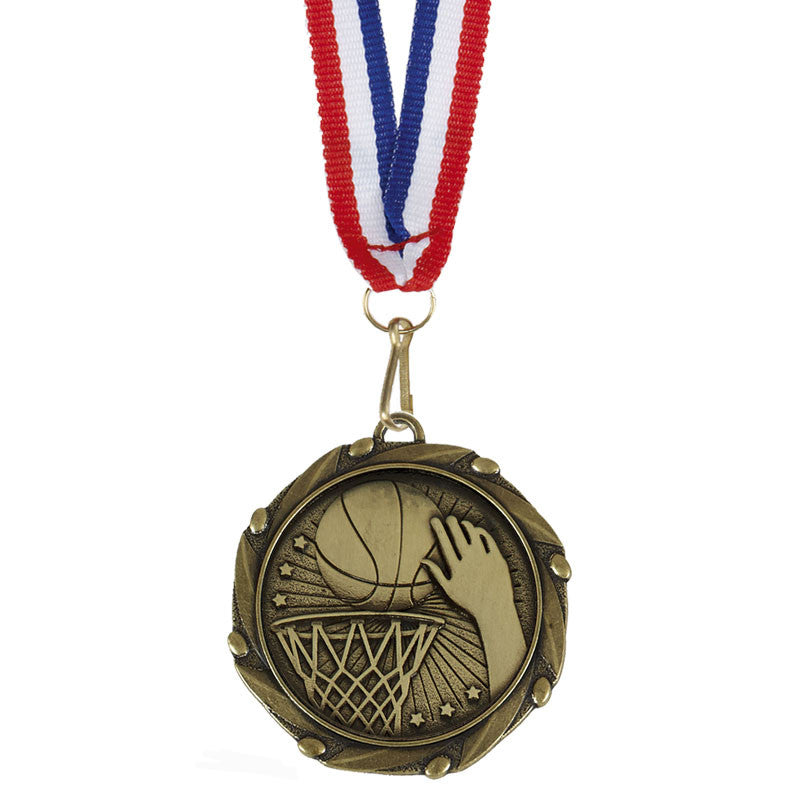 Combo Basketball Medal - Ace Trophies