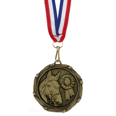 Combo Horse Riding Medal - Ace Trophies