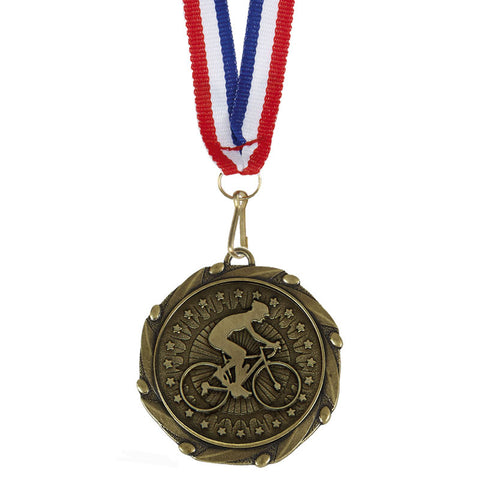 Combo Cycling Medal - Ace Trophies