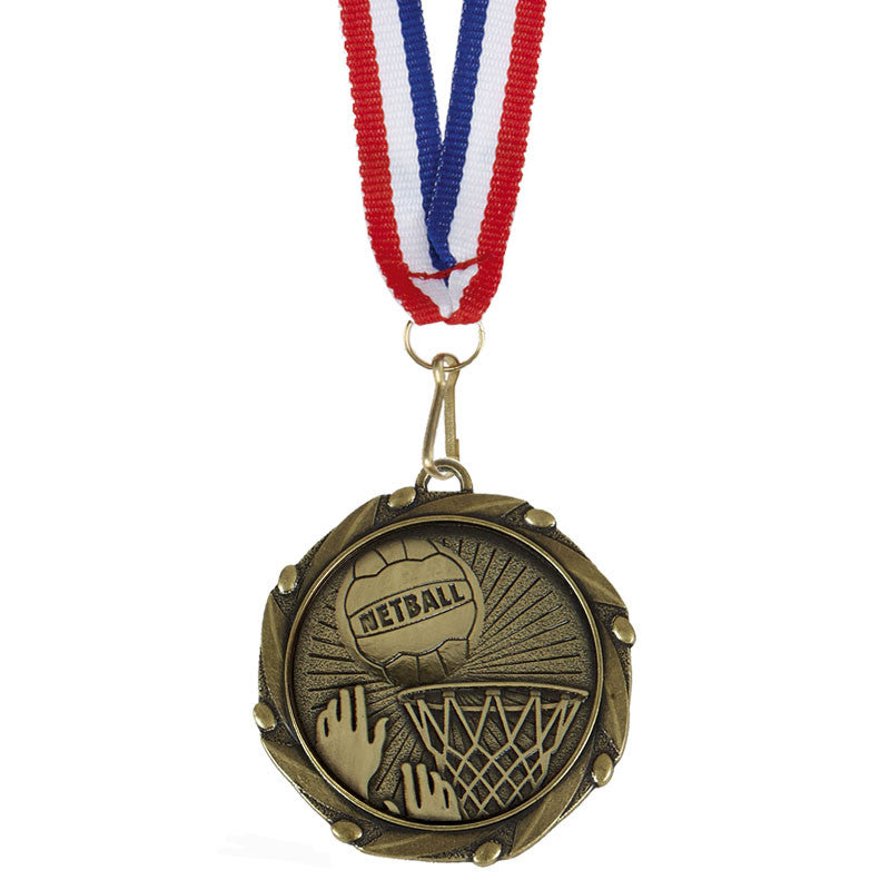 Combo Netball Medal - Ace Trophies