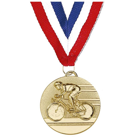 Target Combo Cycling Medal