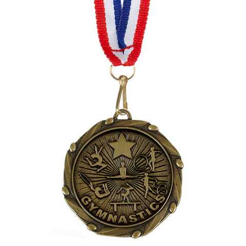 Gymnastics Combo Medal - Ace Trophies