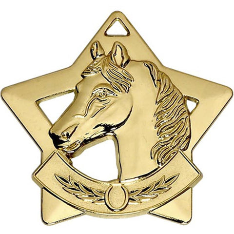 Mini Star Horse Riding Medal