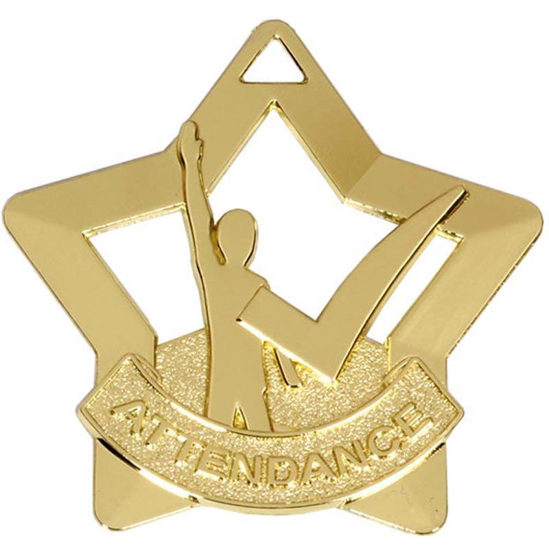 Attendance Medal - Ace Trophies
