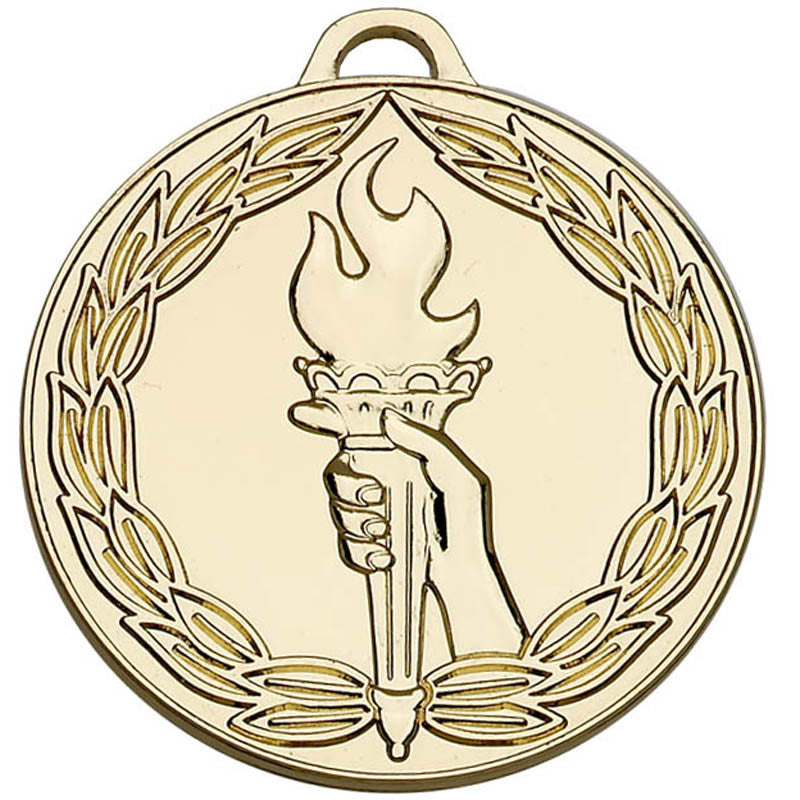 Classic Torch 50 Medal - Ace Trophies