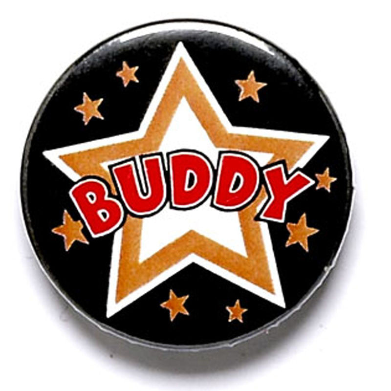 Buddy Pin Badge - Ace Trophies