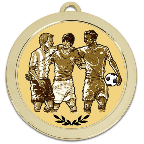 60mm Football Medal - Ace Trophies
