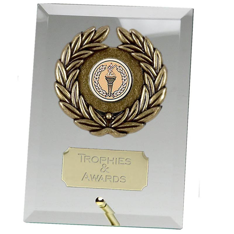 Crest Jade Glass Award - Ace Trophies