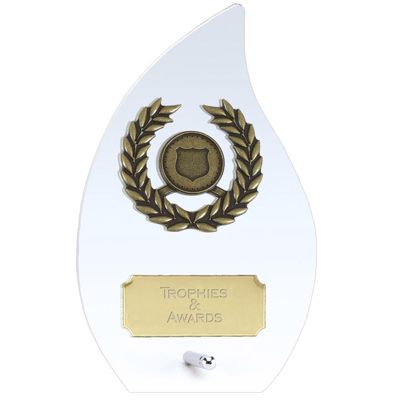 Hope Flame Glass Award - Ace Trophies