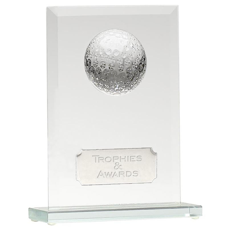 Golf Honour Jade Glass - Ace Trophies