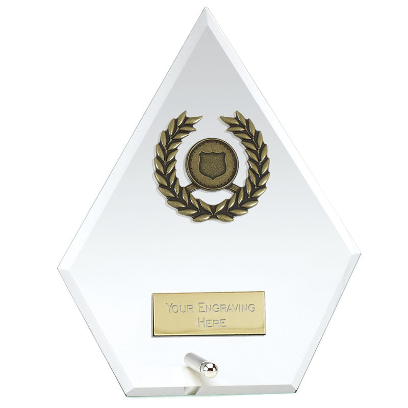 Signal Jade Glass Trophy