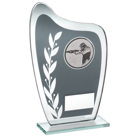 Grey/Silver Shooting Glass Award