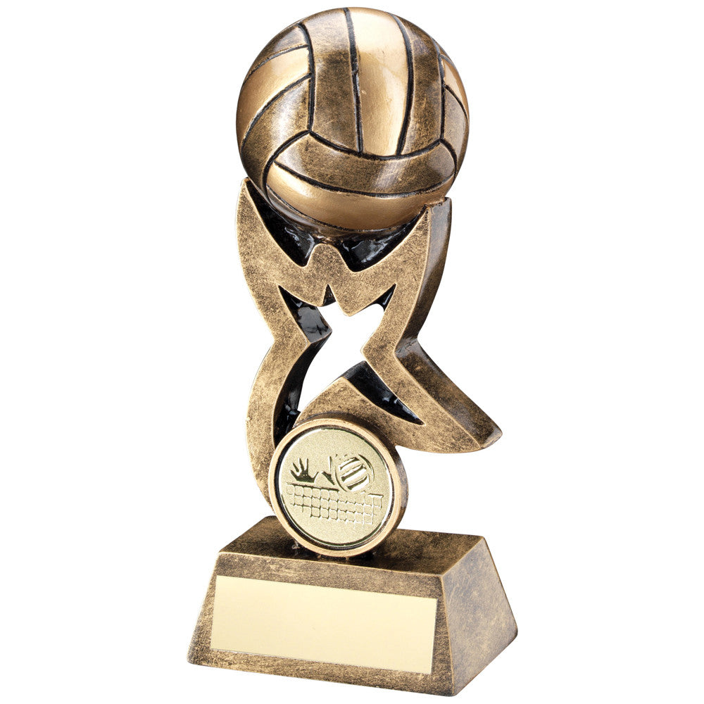 3D Resin Volleyball Award - Ace Trophies
