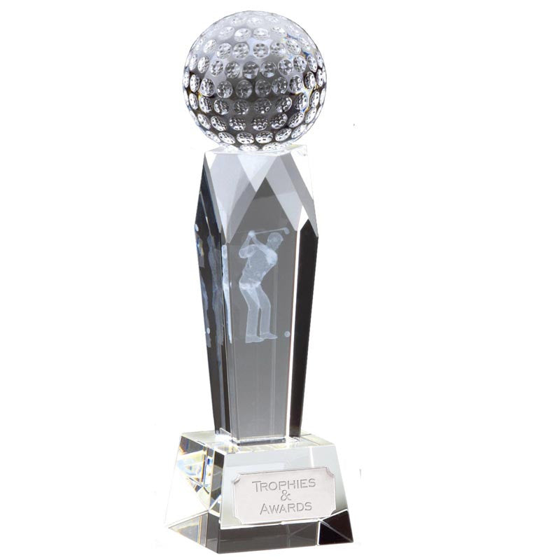 Campbell Golf Optical Crystal - Ace Trophies