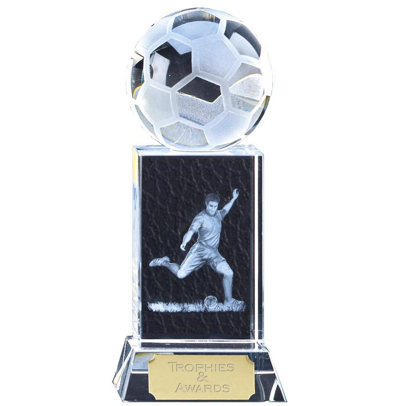Mercury Football Optical Crystal - Ace Trophies