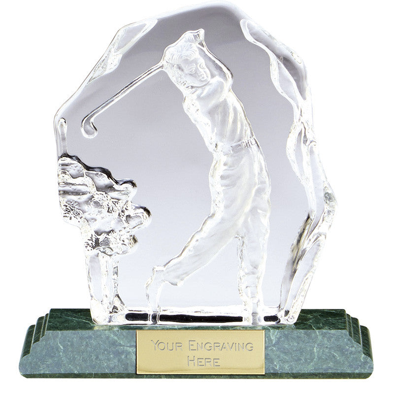 Sportsman Series Golf Crystal Player
