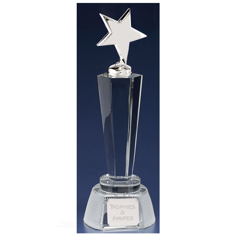 Agility Star Glass Award - Ace Trophies