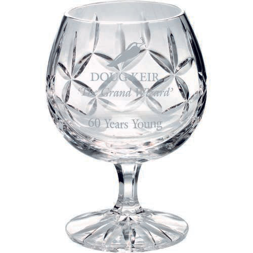 Crystal Brandy Glass - Ace Trophies
