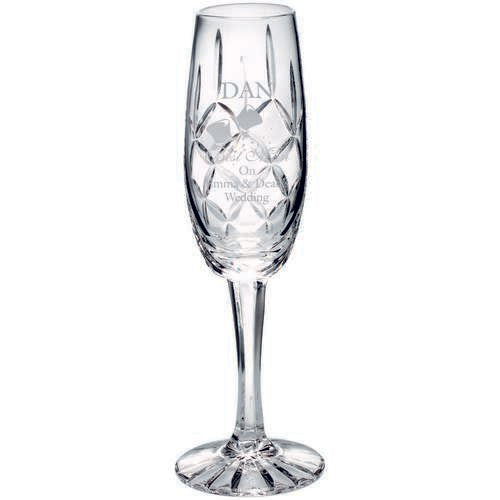 Crystal Champagne Glass - Ace Trophies