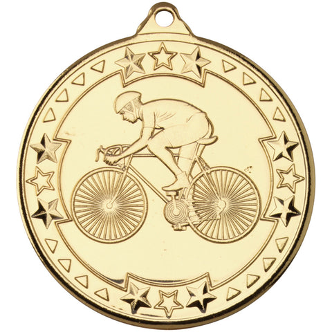 Star Cycling Medal - Ace Trophies