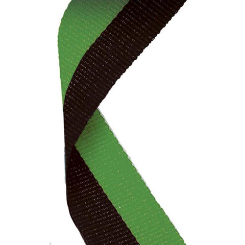 Black Green Ribbon - Ace Trophies