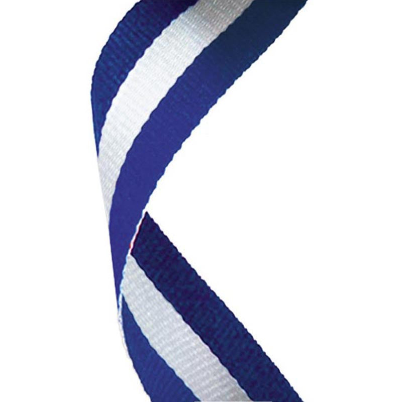 Blue White Blue Ribbon - Ace Trophies