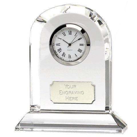 Arch-Optical-Crystal-Clock - Ace -Trophies