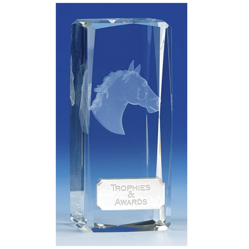 Clarity Horse Crystal - Ace Trophies