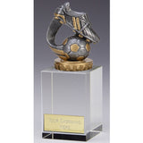 Flexx Glass Football Boot & Ball - Ace Trophies