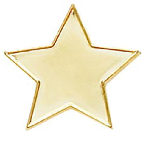 20mm Star Pin Badge - Ace Trophies