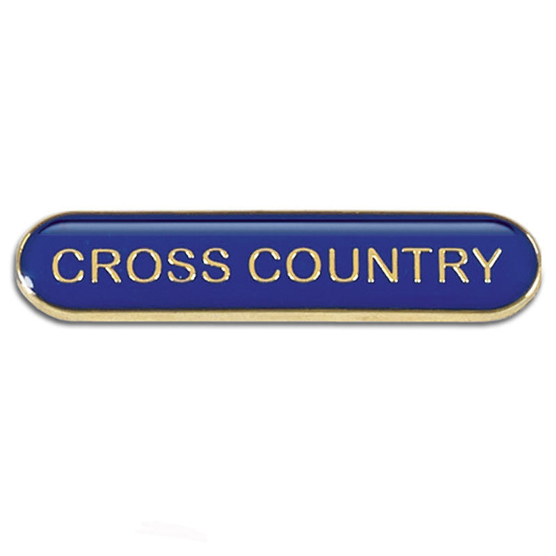 Cross Country Bar Badge - Ace Trophies
