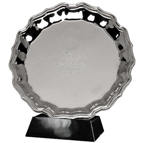 "Chippendale 8"" Salver - Ace Trophies"