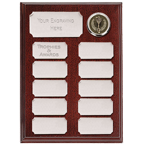 Ashfield Econmy Presentation Plaque - Ace Trophies
