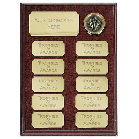 Ashfield Economy Presentation Plaque - Ace Trophies