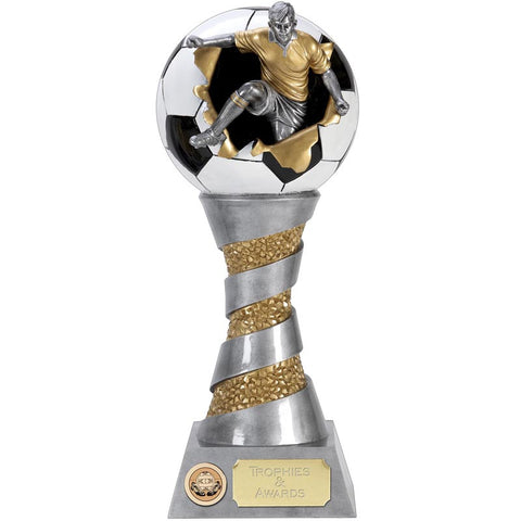 Xplode 3D Male Football Trophy