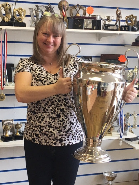"CHAMPIONS LEAGUE STYLE GIANT 26"" CUP - Ace Trophies"