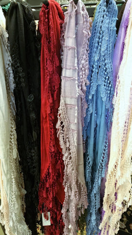 European Lace Scarves
