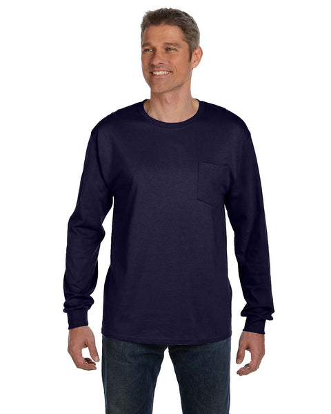 Long sleeve Pocket Tshirt