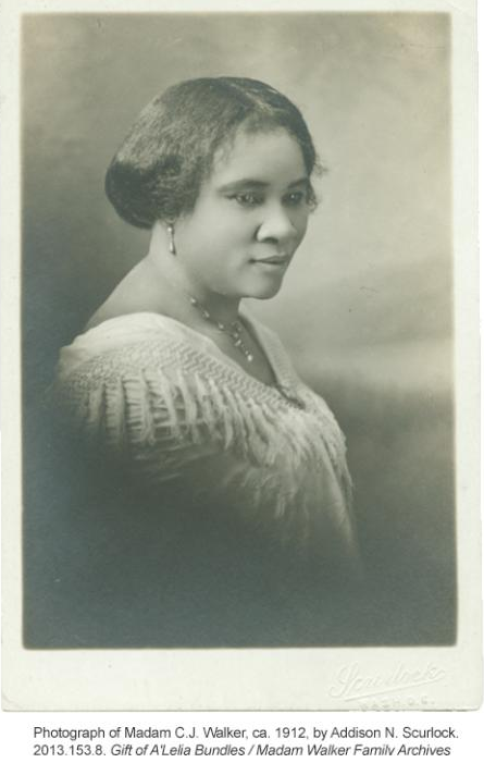 How it all began:  Madam C. J. Walker's story.