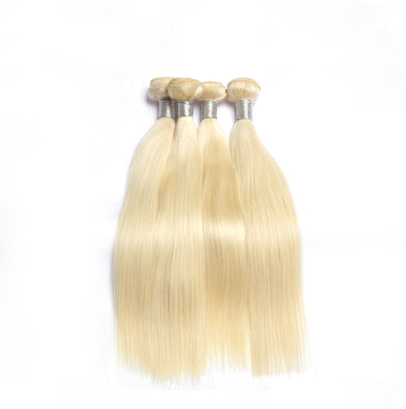 Luxury 613 Straight - Platinum Blonde - London Virgin Hair
